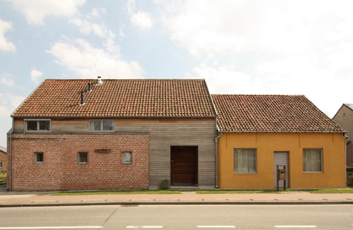 Renovatie van hoeve tot lage energie woning projecten bast - Architectuur renovatie ...