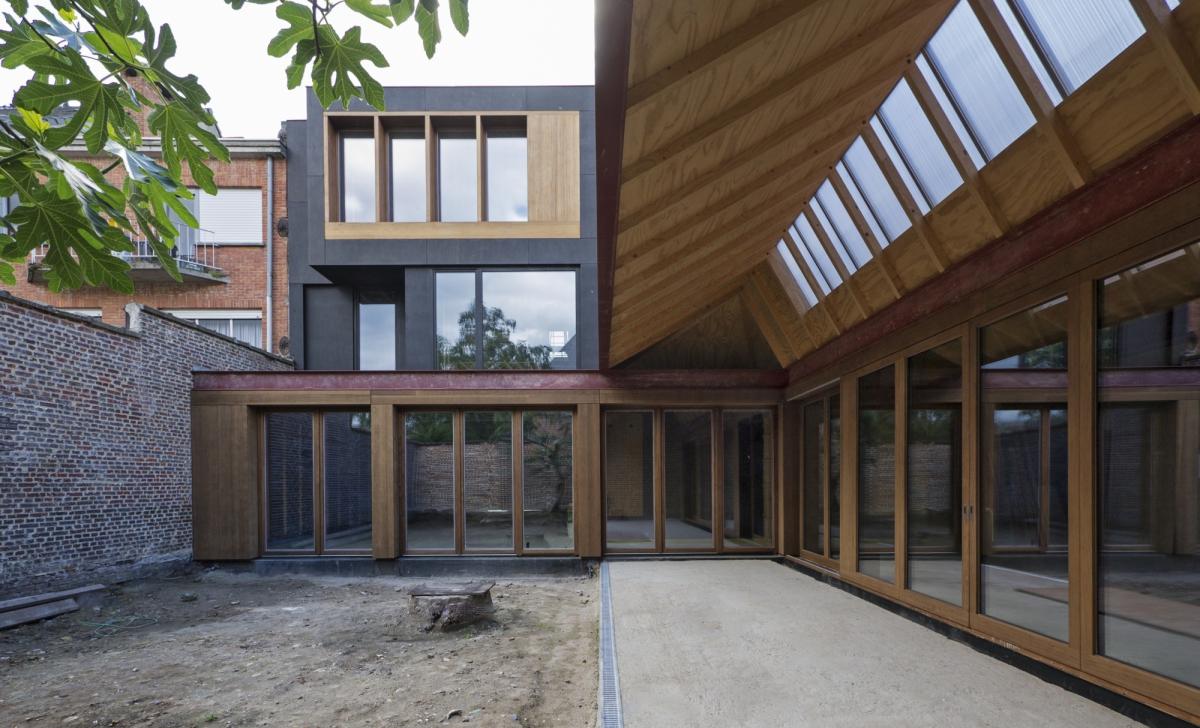 Renovatie staalatelier tot woning atelier projecten bast - Architectuur renovatie ...